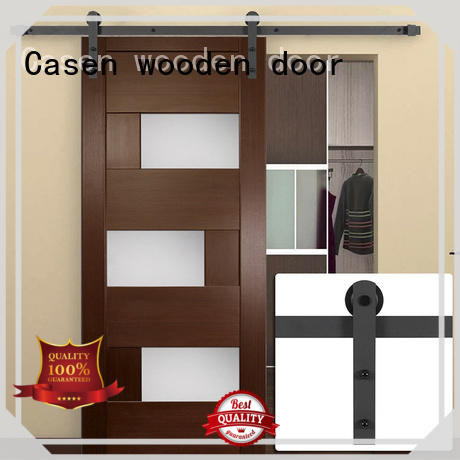 Casen glass interior barn doors ODM for store