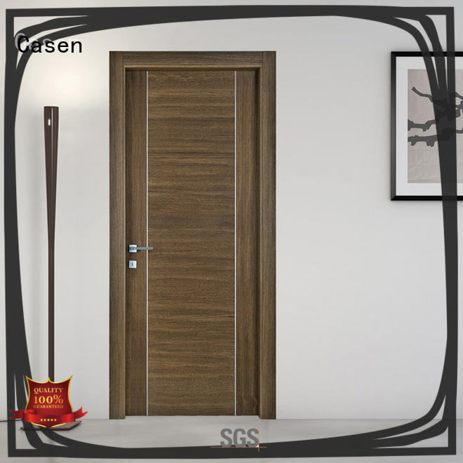 Casen modern design white internal doors custom for bathroom