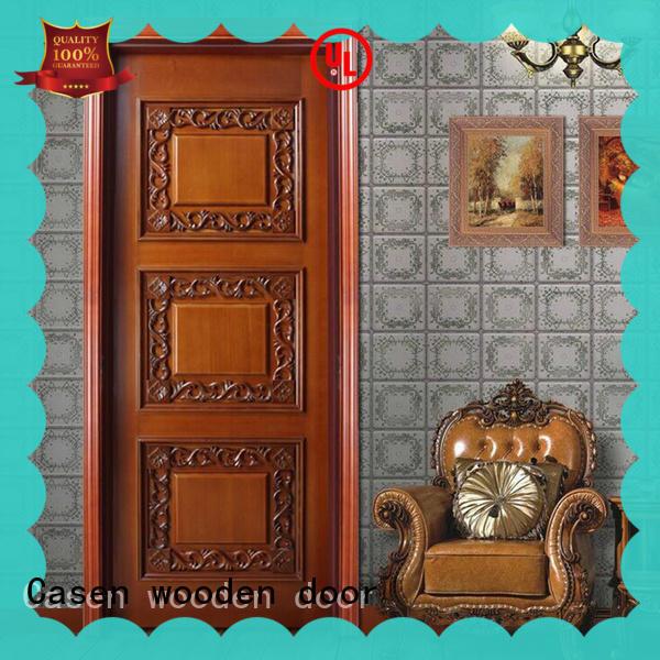 Casen white color luxury interior doors fashion for bedroom