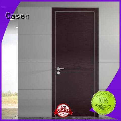 white flat modern doors interior Casen