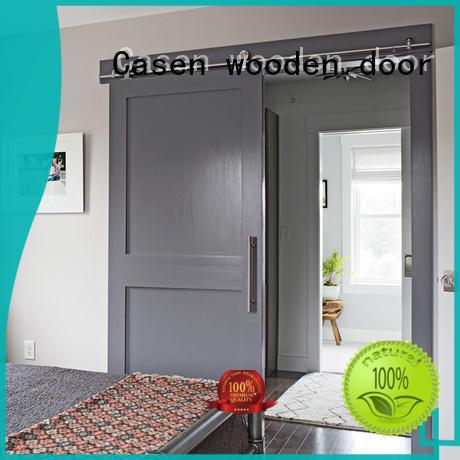 Casen space interior barn doors OEM for washroom