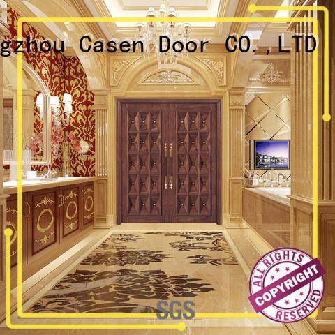 Casen main oak doors fashion for shop