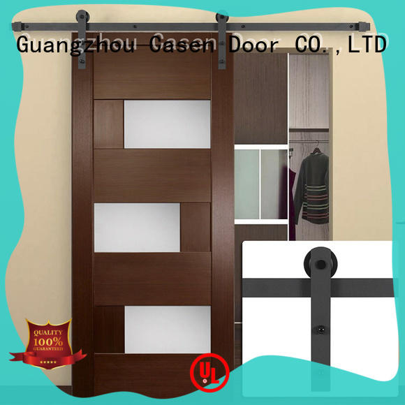 new arrival interior barn doors glass OEM for shop
