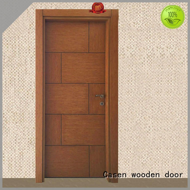 Casen durable solid core mdf interior doors easy installation for dining room