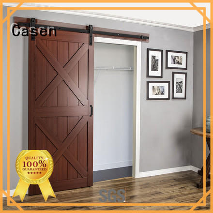 Casen Brand doors washroom special mdf barn door some