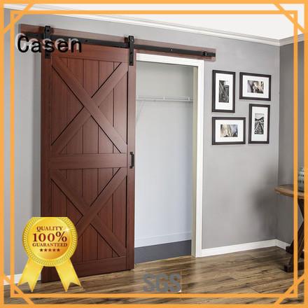 Casen Brand doors washroom special mdf barn door some