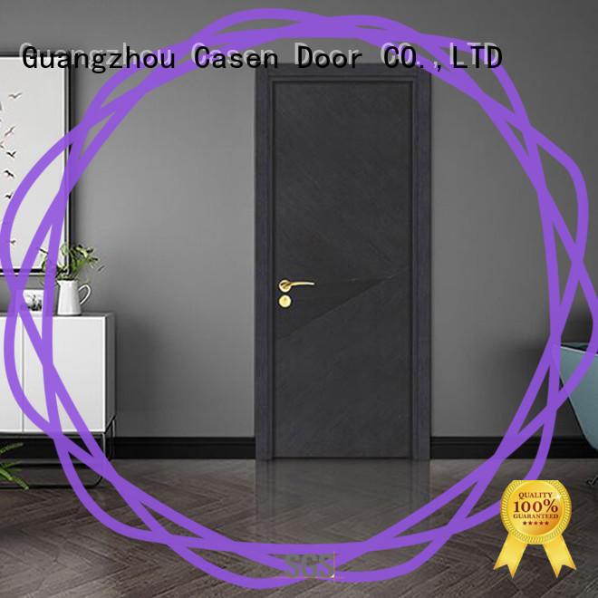 Casen flat modern composite doors easy for washroom