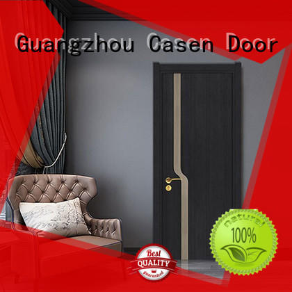 Casen wooden modern composite doors dark