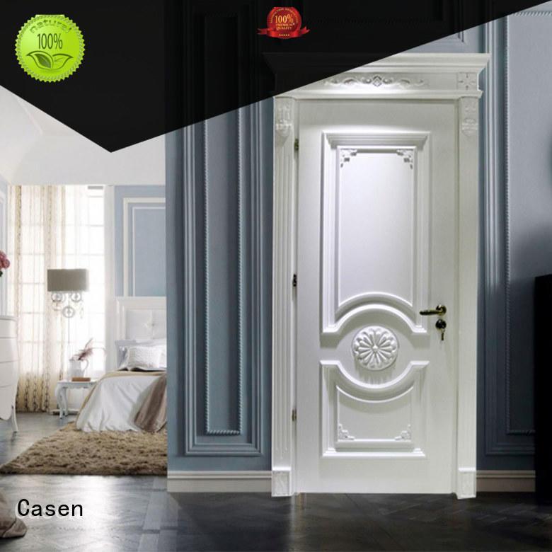 Casen american luxury wooden doors single for bedroom