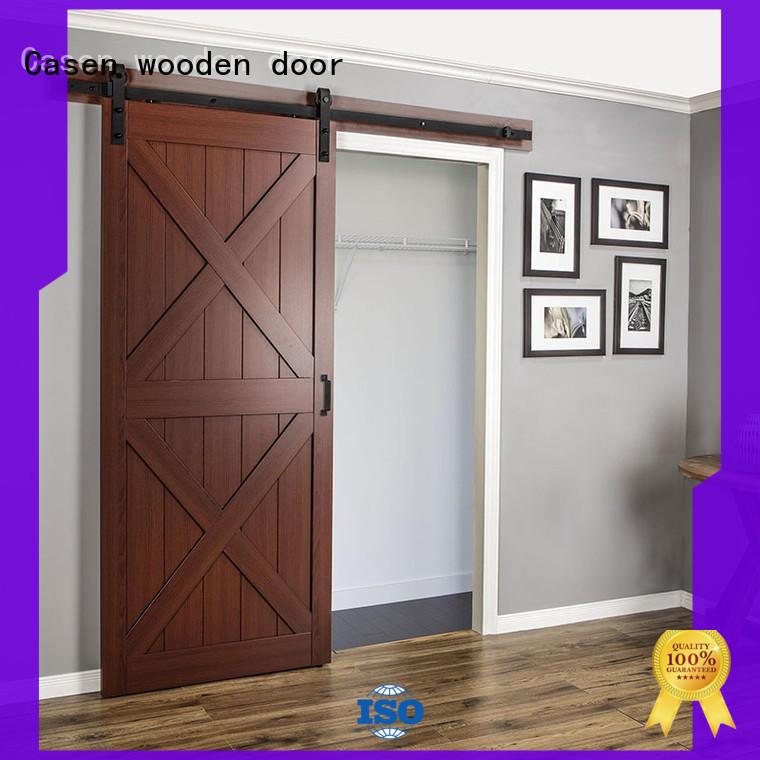Casen latest mdf barn door space for store