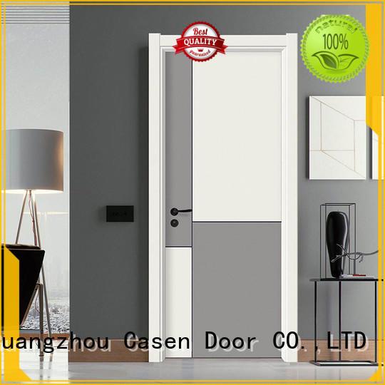 interior best price composite doors gray Casen