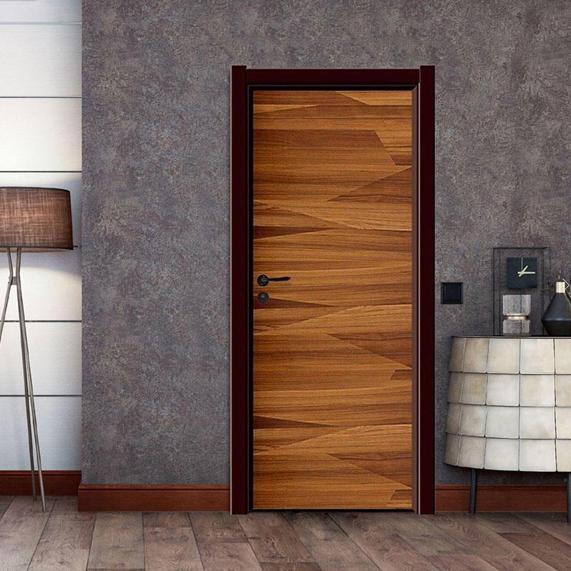 Interior white wood door JS-2006A