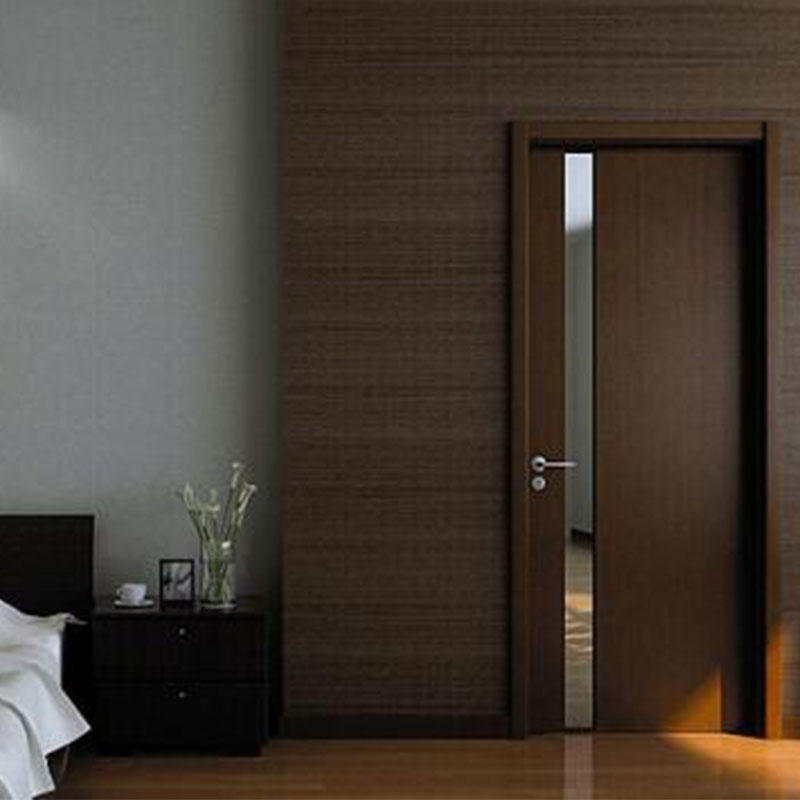 Modern wood door JS-6003A