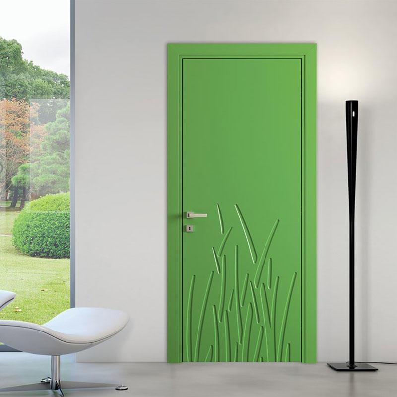 Modern wood door JS-6004A