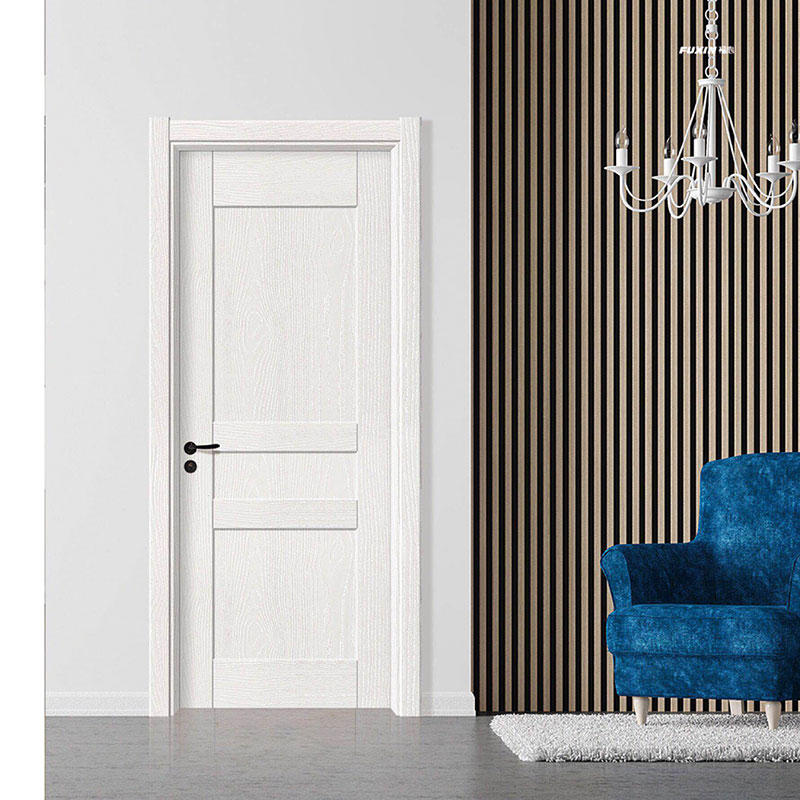 solid core mdf interior doors white wood color Casen Brand company