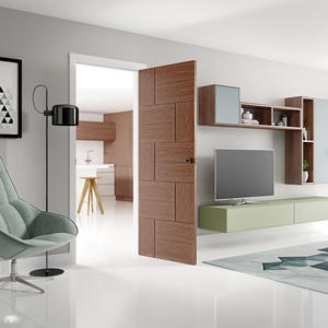 Modern Solid Wood Door for Home in Singapore