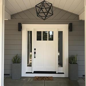 MDF Door for Villa in Romania