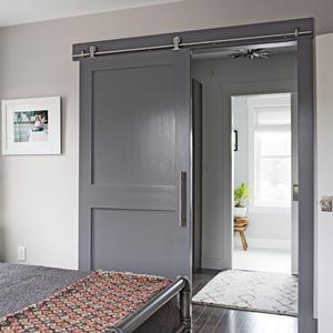 Composite Interior Barn Door for Living Room