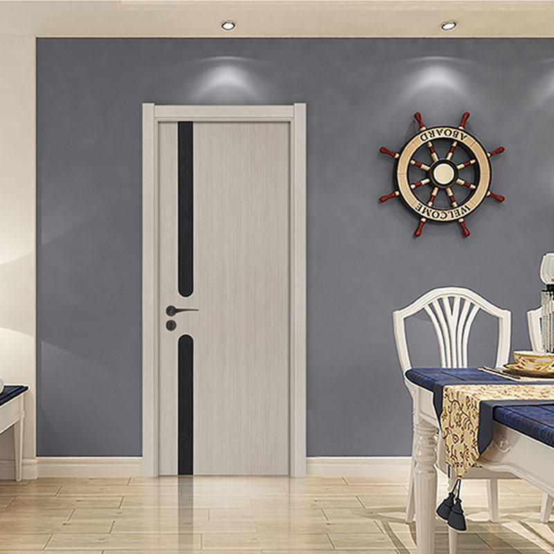 HDF doors gray color fashion and future style for room use  JS-1003A