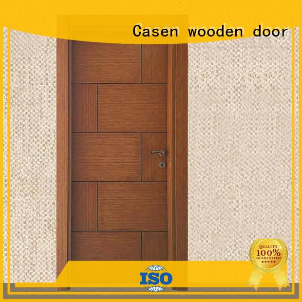Casen durable mdf doors easy installation for washroom