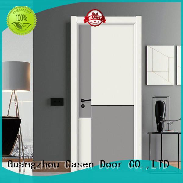 Casen flat composite wood door simple style for bedroom