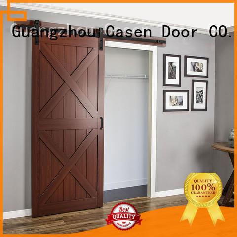 space barn doors for homes OEM for bathroom Casen