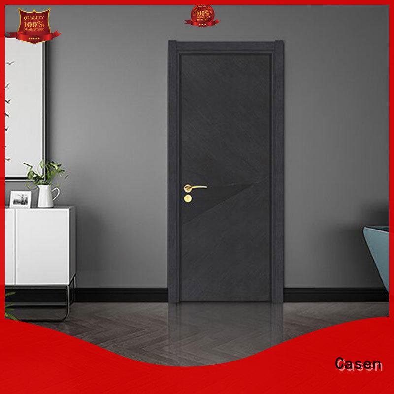 Casen Brand simple bedroom 4 panel doors wooden factory