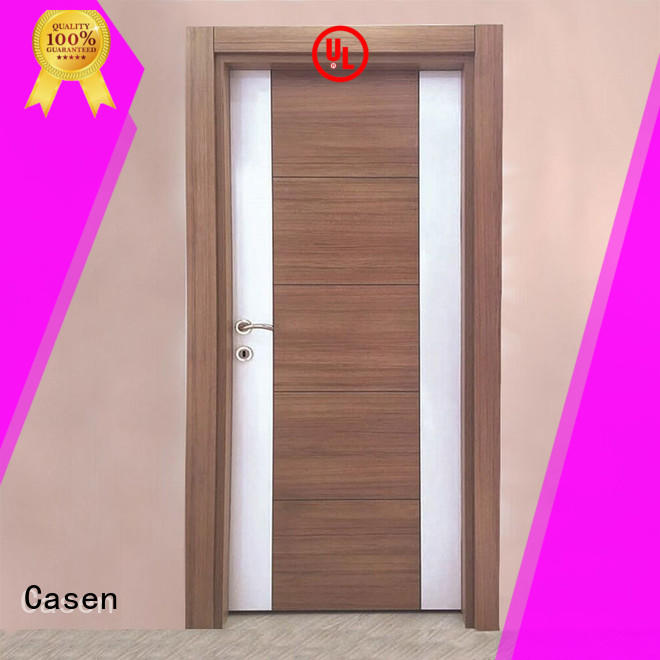 Casen fast installation mdf interior doors wholesale for decoration