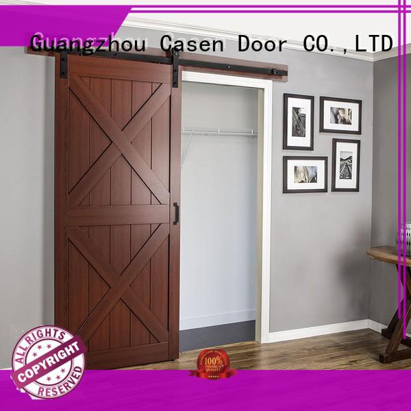 Casen new arrival barn doors for homes OBM for shop