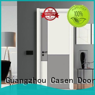 Casen plain internal doors with glass easy for washroom