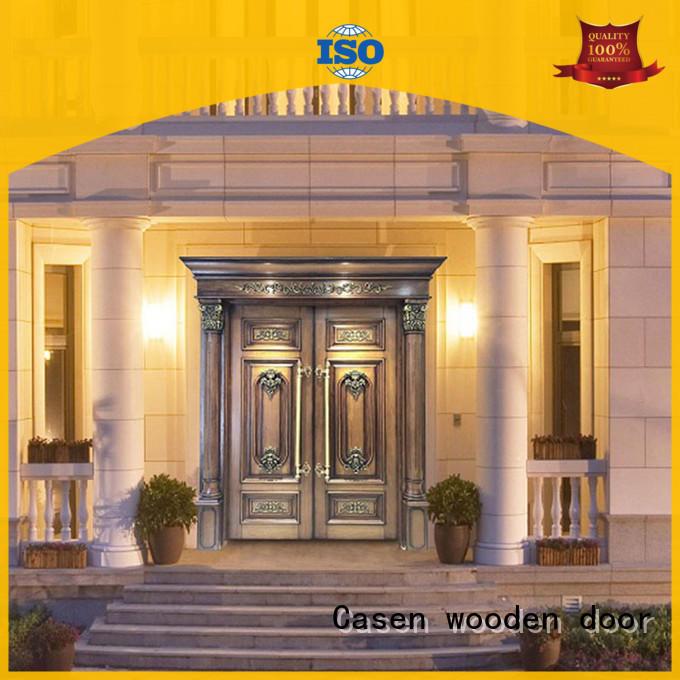 glass glass front doors iron for shop Casen