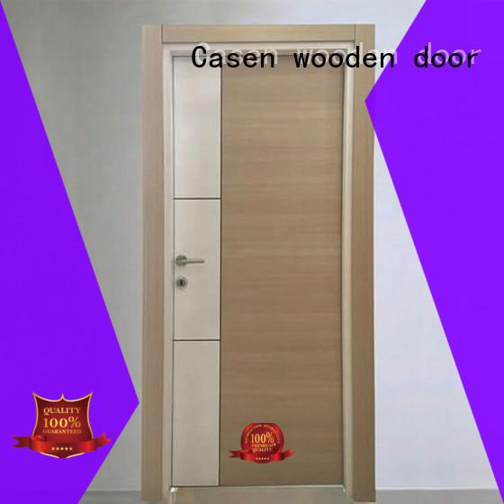 white wood flat mdf doors Casen