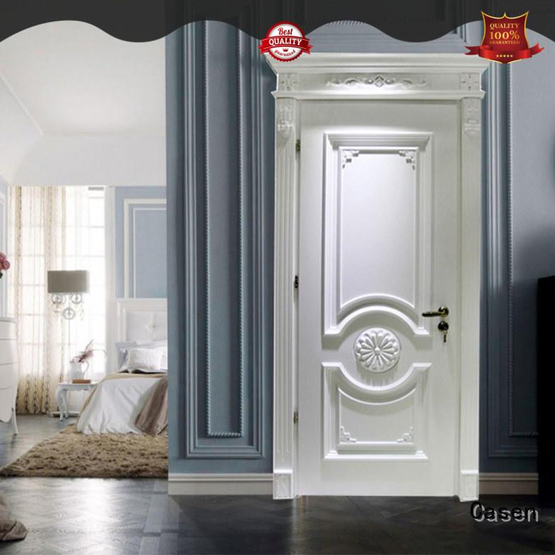 Casen wooden luxury wooden doors easy for store decoration