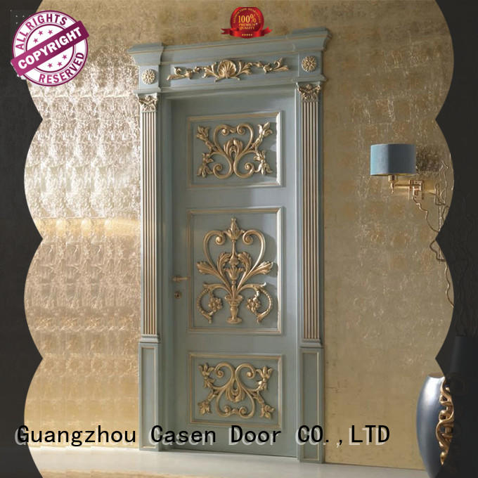 Casen modern wooden door fashion for bedroom