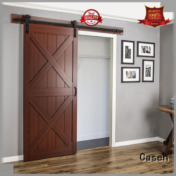 interior barn doors glass for washroom Casen
