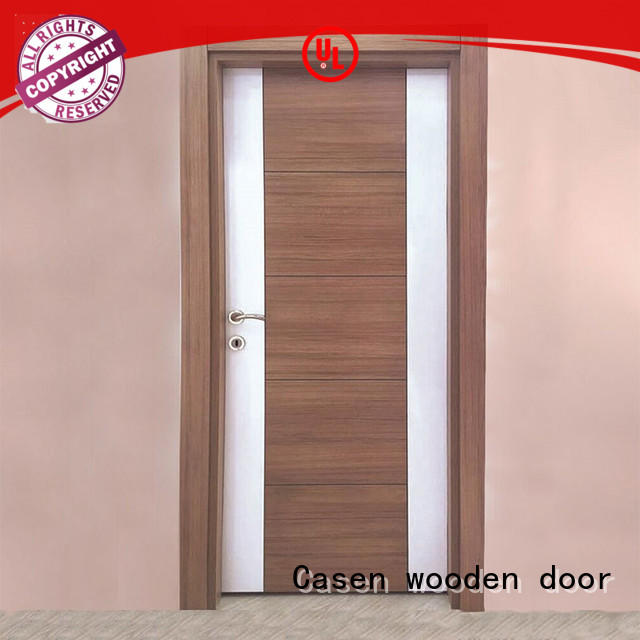 Casen mdf interior door manufacturers easy installation for room