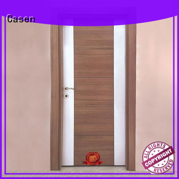 Casen chic solid core mdf interior doors easy installation for room