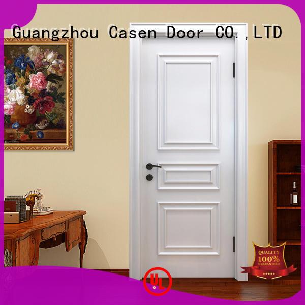 Casen wooden fancy doors fashion for bathroom