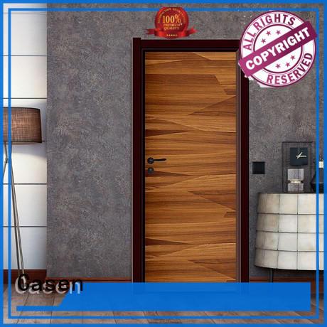 Casen Brand flat 4 panel doors door factory