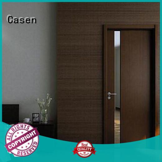 Casen Brand flat color modern wooden doors fashion
