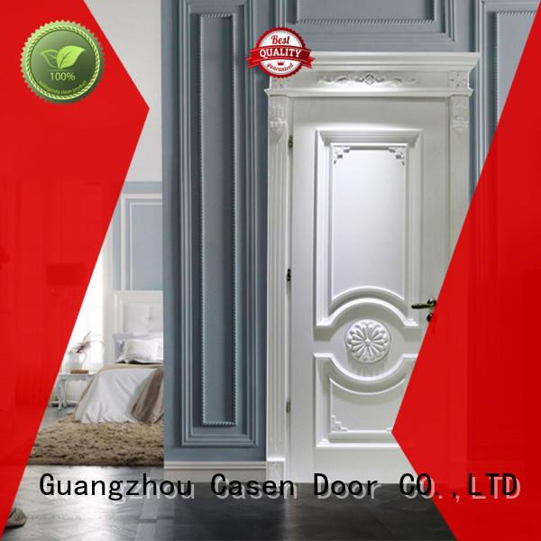 Casen wooden fancy doors easy for bedroom