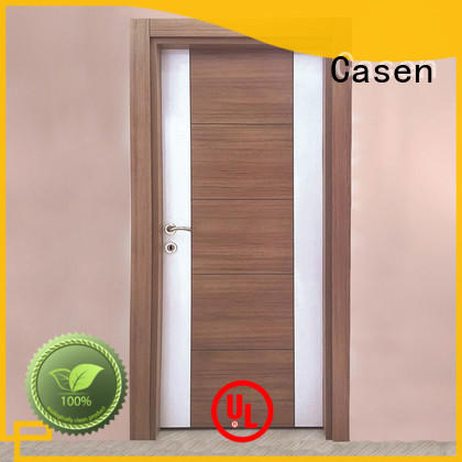 Casen Brand flat solid core mdf interior doors dark supplier