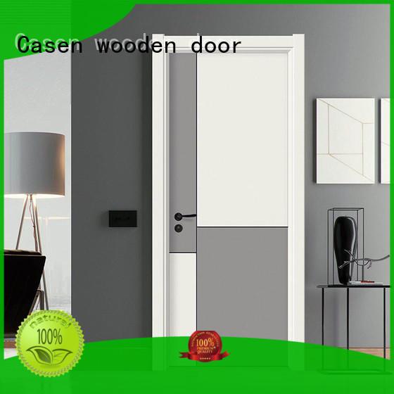 white wood composite wood door dark for bathroom