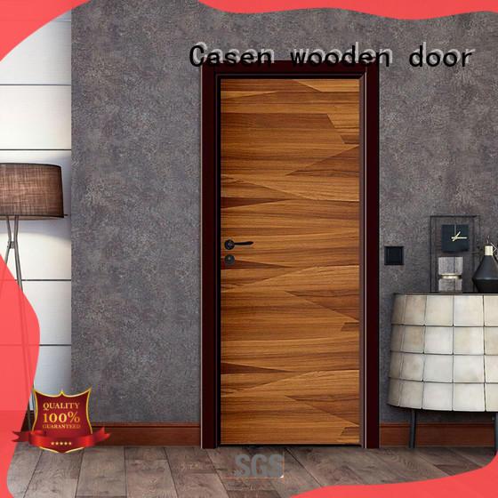 Casen flat composite wood door best design for bathroom