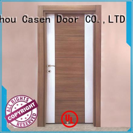 fast installation mdf interior doors simple design wholesale for washroom