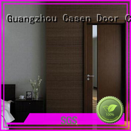 Casen fashion solid wood entry doors wholesale for hotel