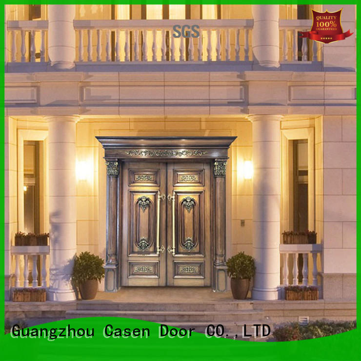 Casen natural modern entry doors archaistic style for villa