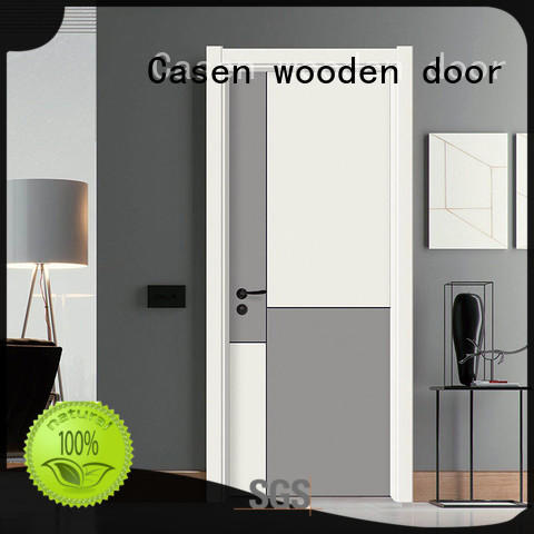 Casen plain modern composite doors simple style