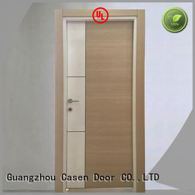 door white flat design mdf doors Casen
