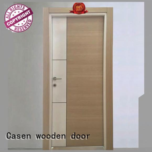 Casen mdf interior doors wholesale for washroom